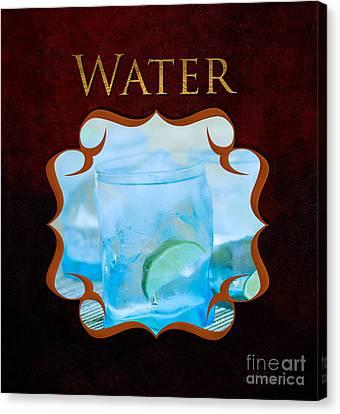 Drinking Water Canvas Print by Iris Richardson