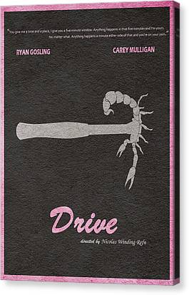 Drive Canvas Print by Ayse Deniz