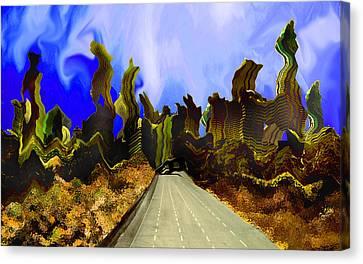 Drive Thru 1 Canvas Print by Bruce Iorio
