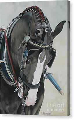 Driven Canvas Print by Patricia Brandt