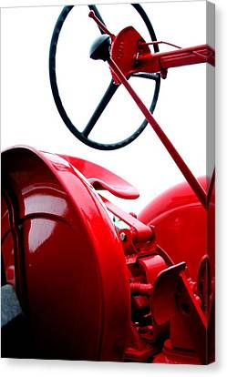 Drivers Seat Canvas Print by Heather Allen