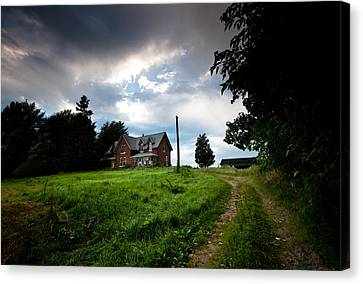 Driveway Home Canvas Print by Cale Best