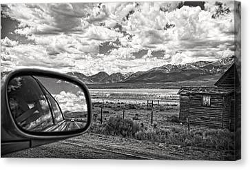 Driving Through Colorado Canvas Print by Susan Stone