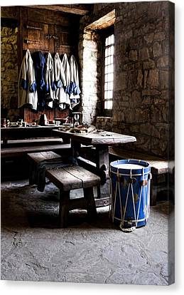 Drum Corps 2 Canvas Print by Peter Chilelli