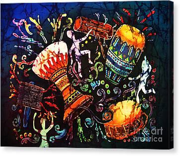 Drumbeat Canvas Print by Sue Duda