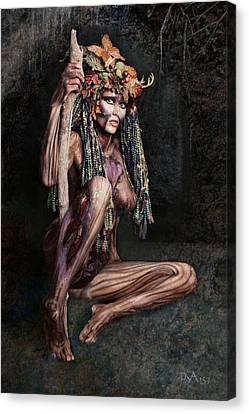 Dryad IIi Canvas Print by David April