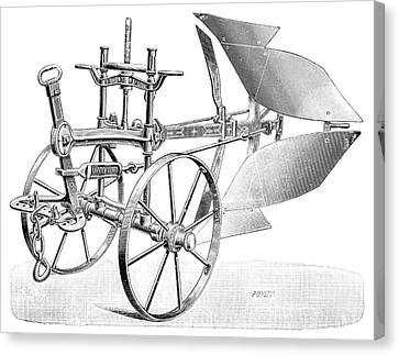 Dual-brabant Plough Canvas Print by Science Photo Library