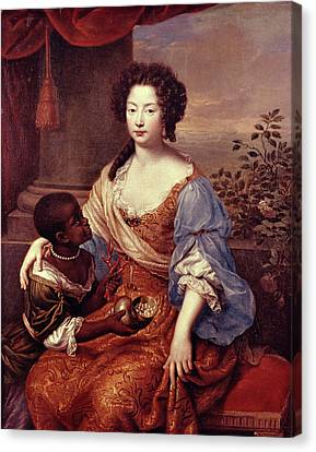 Duchess Of Portsmouth (1649-1734) Canvas Print by Granger
