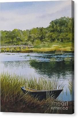 Duck Creek Canvas Print by Karol Wyckoff