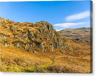 Duddon Valley Lake District Canvas Print by Trevor Kersley