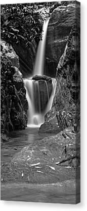 Duggers Creek Falls - North Carolina Waterfall Photograph Series Canvas Print by Matt Plyler