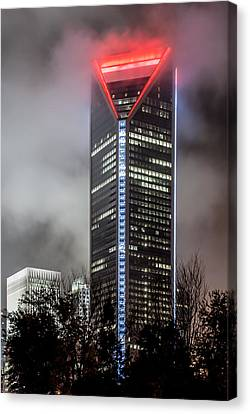 Duke Energy Center Canvas Print by Brian Young