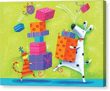 Dukes Birthday Canvas Print by Peter Adderley