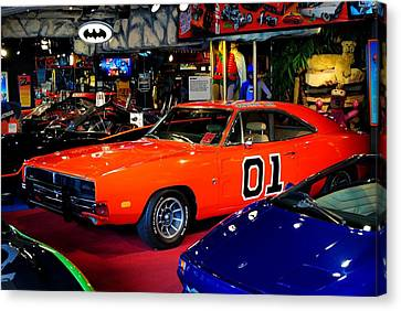 Dukes Of Hazzard Canvas Print by Frozen in Time Fine Art Photography