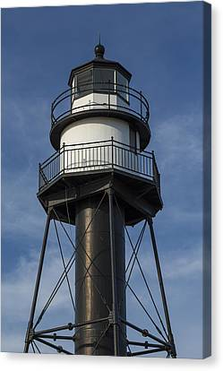 Duluth Inner Canal Lighthouse 1 Canvas Print by John Brueske
