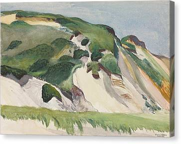Dune At Truro Canvas Print by Edward Hopper