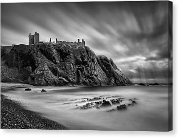 Dunnottar Castle 2 Canvas Print by Dave Bowman