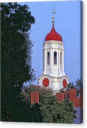 Dunster House On The Campus Of Harvard University Canvas Print by Mountain Dreams
