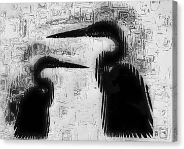 Duo Canvas Print by Jack Zulli