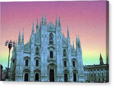 Duomo Di Milano Canvas Print by Jeff Kolker