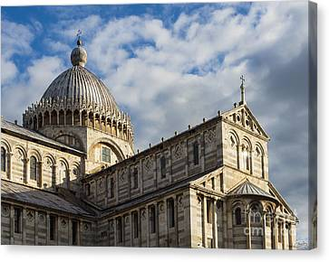 Duomo Of Pisa Canvas Print by Prints of Italy