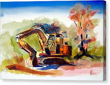 Duty Dozer II Canvas Print by Kip DeVore