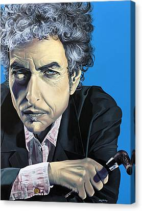 Dylan Canvas Print by Kelly Jade King