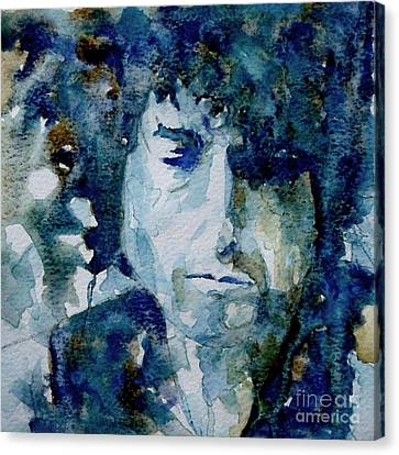 Dylan Canvas Print by Paul Lovering