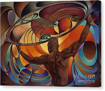 Dynamic Scorpio Canvas Print by Ricardo Chavez-Mendez