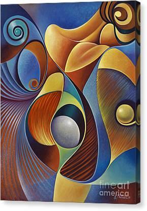 Dynamic Series #22 Canvas Print by Ricardo Chavez-Mendez