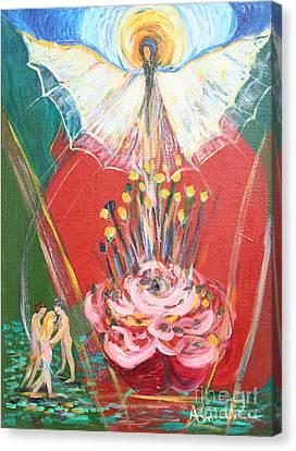 E R A 1974 Canvas Print by Avonelle Kelsey