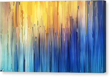 Each Day Anew Canvas Print by Lourry Legarde