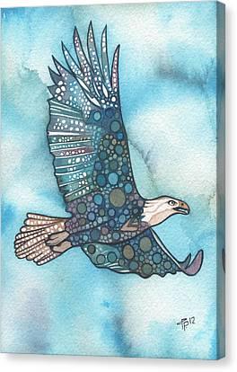 Eagle Canvas Print by Tamara Phillips