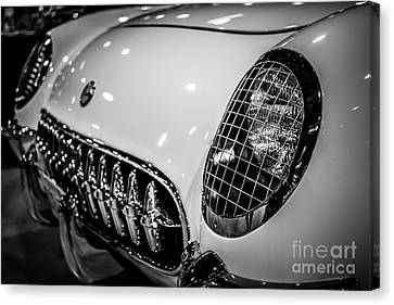 Early 1950's Chevrolet Corvette C1 Canvas Print by Paul Velgos