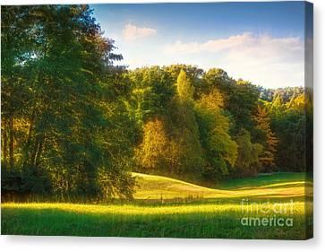 Early Autumn Glow Canvas Print by Lutz Baar