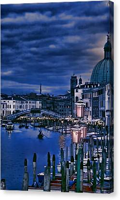 Early Evening Venice Canvas Print by Tom Prendergast