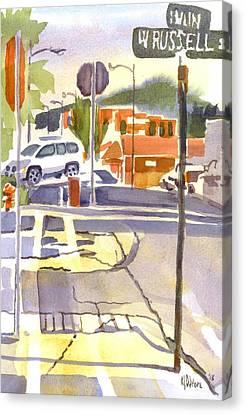Early Morning Sunshine II Canvas Print by Kip DeVore