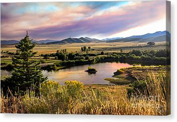 Early Morning View Canvas Print by Robert Bales