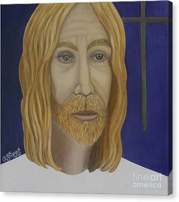 Early Perception Of Jesus. Canvas Print by Caroline Street