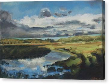 Earth Air Water Canvas Print by Grace Keown
