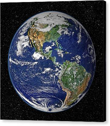 Earth Canvas Print by Dave Lee