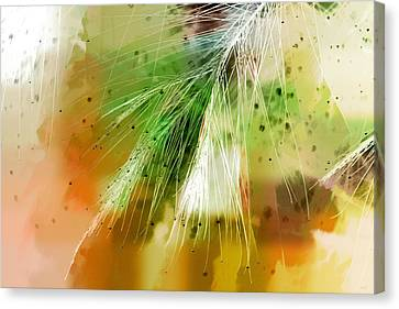 Earth Silk Canvas Print by Holly Kempe