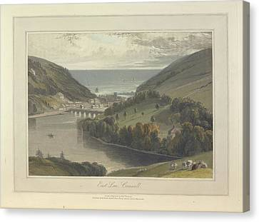 East Looe Canvas Print by British Library