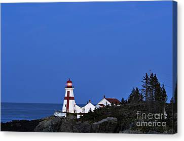 East Quoddy Lighthouse - D002160 Canvas Print by Daniel Dempster