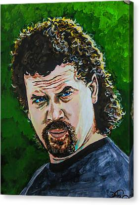 Eastbound And Down Canvas Print by Joel Tesch