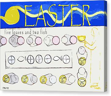 Easter 17 Canvas Print by Patrick J Murphy