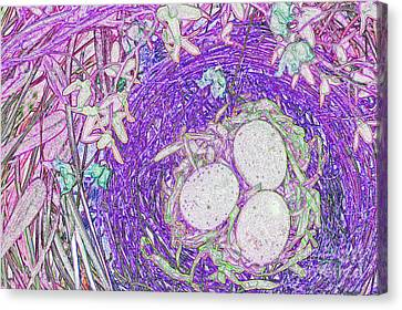 Easter Eggs By Jrr Canvas Print by First Star Art