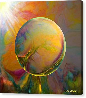 Easter Orb Canvas Print by Robin Moline
