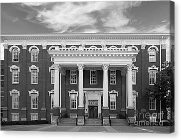 Eastern Kentucky University Building Canvas Print by University Icons