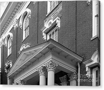 Eastern Kentucky University Crabbe Library Detail Canvas Print by University Icons